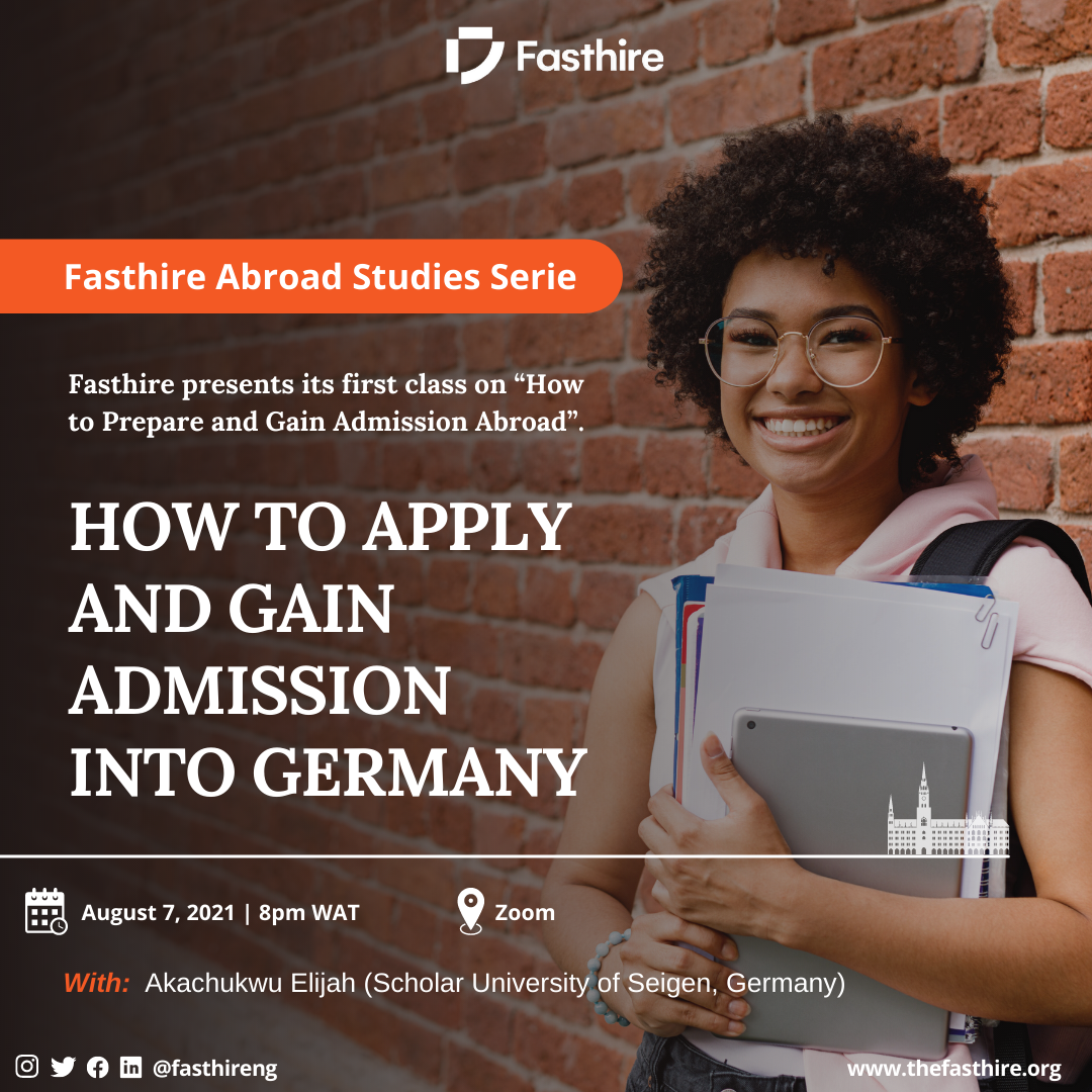study abroad series: how to prepare and gain admission abroad